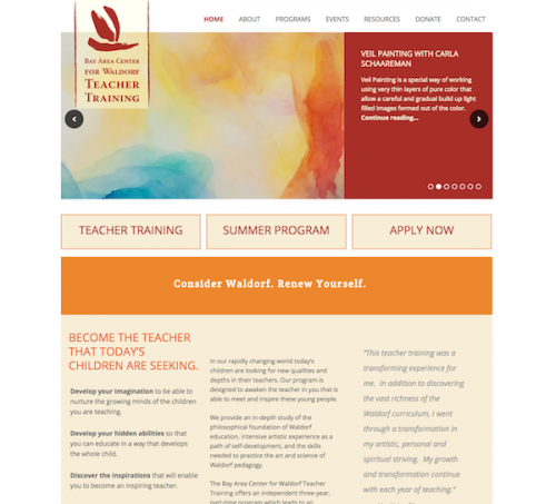 Bay Area Center for Waldorf Teacher Training