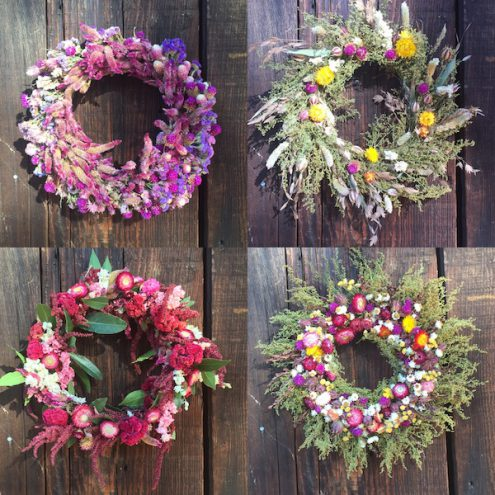Full Belly wreaths