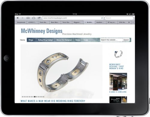 McWhinney Designs | Men's Wedding Rings