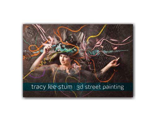 World Renown 3-D Chalk Artist